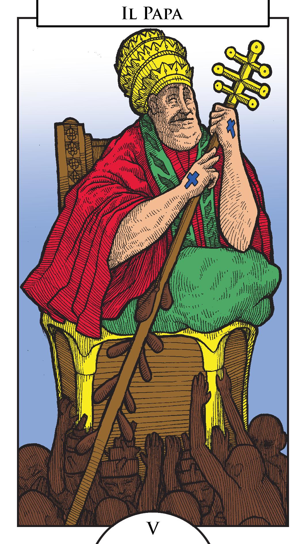 tarocchi - il papa - linquieto